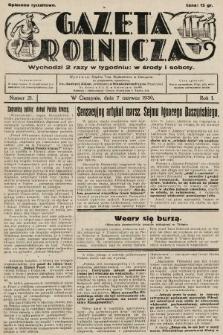 Gazeta Rolnicza. 1930, nr21