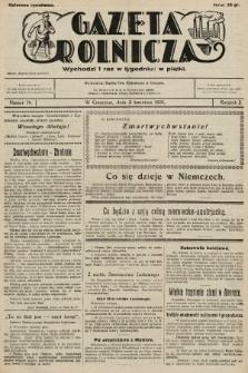Gazeta Rolnicza. 1931, nr14