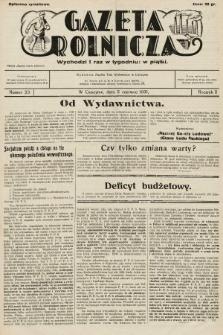 Gazeta Rolnicza. 1931, nr23