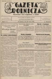 Gazeta Rolnicza. 1932, nr13