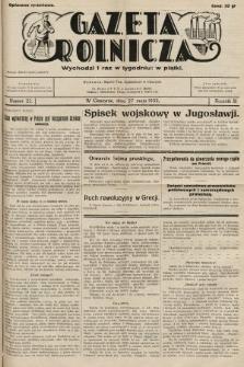 Gazeta Rolnicza. 1932, nr22