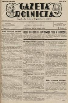 Gazeta Rolnicza. 1932, nr23