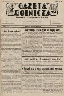 Gazeta Rolnicza. 1932, nr27