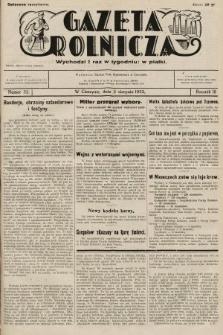 Gazeta Rolnicza. 1932, nr32