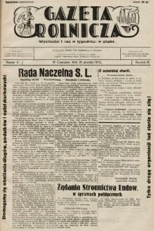 Gazeta Rolnicza. 1932, nr51
