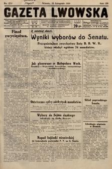 Gazeta Lwowska. 1930, nr272