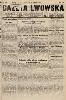 Gazeta Lwowska. 1930, nr291