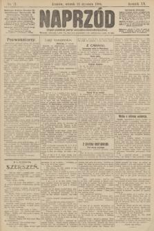 Naprzód : organ polskiej partyi socyalno demokratycznej. 1906, nr21