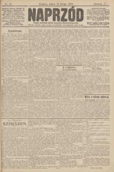 Naprzód : organ polskiej partyi socyalno demokratycznej. 1906, nr45