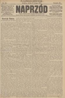 Naprzód : organ polskiej partyi socyalno demokratycznej. 1906, nr46 (po konfiskacie nakład drugi)