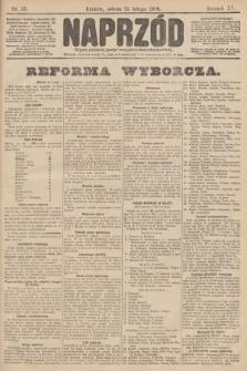 Naprzód : organ polskiej partyi socyalno demokratycznej. 1906, nr53