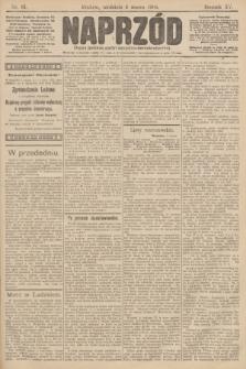 Naprzód : organ polskiej partyi socyalno demokratycznej. 1906, nr61