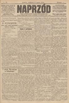 Naprzód : organ polskiej partyi socyalno demokratycznej. 1906, nr68
