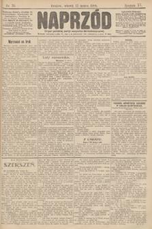 Naprzód : organ polskiej partyi socyalno demokratycznej. 1906, nr70