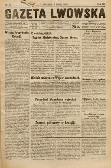 Gazeta Lwowska. 1930, nr33