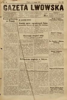 Gazeta Lwowska. 1930, nr43