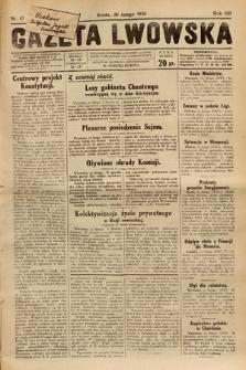 Gazeta Lwowska. 1930, nr47