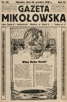 Gazeta Mikołowska. 1928, nr52