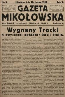 Gazeta Mikołowska. 1929, nr8
