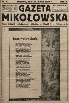 Gazeta Mikołowska. 1929, nr13