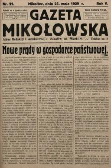 Gazeta Mikołowska. 1929, nr21