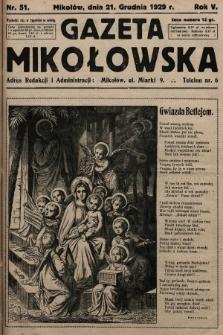 Gazeta Mikołowska. 1929, nr51