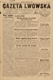 Gazeta Lwowska. 1930, nr77