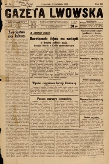 Gazeta Lwowska. 1930, nr78