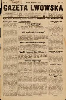 Gazeta Lwowska. 1930, nr79