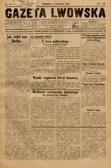 Gazeta Lwowska. 1930, nr81