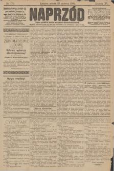 Naprzód : organ polskiej partyi socyalno demokratycznej. 1906, nr170