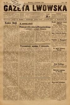 Gazeta Lwowska. 1930, nr82