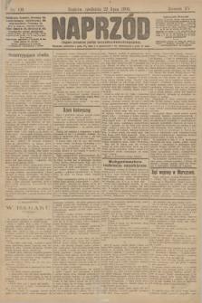 Naprzód : organ polskiej partyi socyalno demokratycznej. 1906, nr199