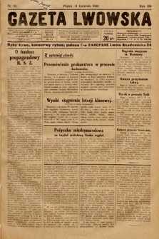 Gazeta Lwowska. 1930, nr85