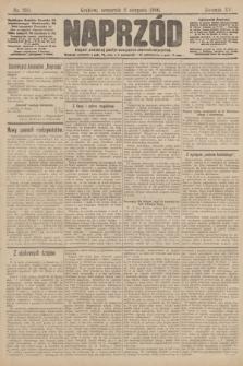 Naprzód : organ polskiej partyi socyalno demokratycznej. 1906, nr210