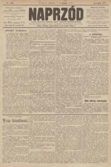 Naprzód : organ polskiej partyi socyalno demokratycznej. 1906, nr215