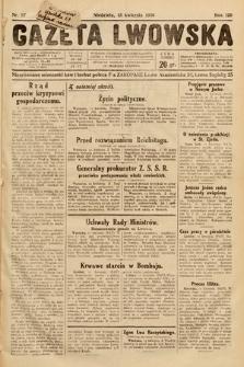 Gazeta Lwowska. 1930, nr87