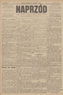 Naprzód : organ polskiej partyi socyalno demokratycznej. 1906, nr229