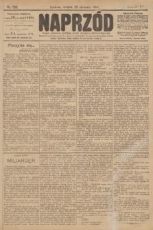 Naprzód : organ polskiej partyi socyalno demokratycznej. 1906, nr236