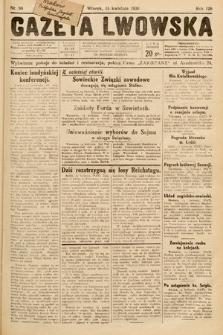 Gazeta Lwowska. 1930, nr88
