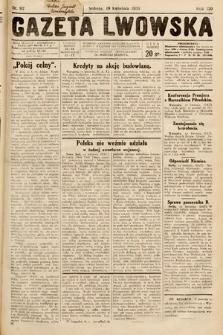 Gazeta Lwowska. 1930, nr92
