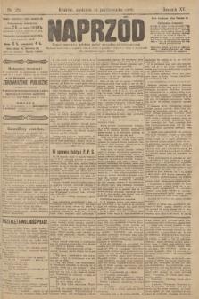 Naprzód : organ polskiej partyi socyalno demokratycznej. 1906, nr282
