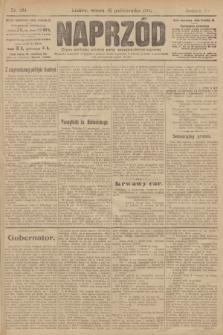 Naprzód : organ polskiej partyi socyalno demokratycznej. 1906, nr284
