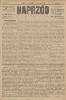 Naprzód : organ polskiej partyi socyalno demokratycznej. 1906, nr304