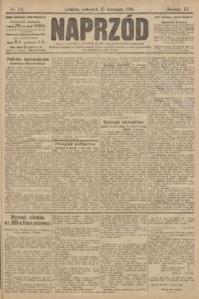 Naprzód : organ polskiej partyi socyalno demokratycznej. 1906, nr314