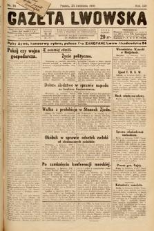 Gazeta Lwowska. 1930, nr96