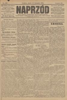 Naprzód : organ polskiej partyi socyalno demokratycznej. 1906, nr329