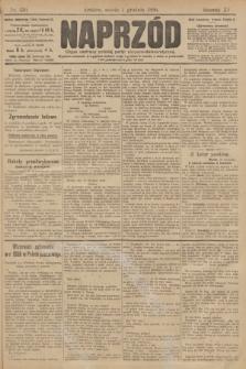 Naprzód : organ polskiej partyi socyalno demokratycznej. 1906, nr330