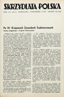 Skrzydlata Polska. 1936, nr10
