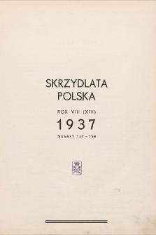Skrzydlata Polska. 1937, spis treści